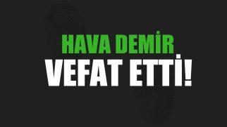 DEMİR AİLESİNİN ACI GÜNÜ!