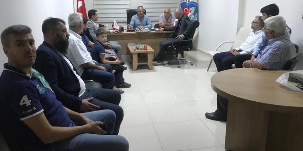 MHP İlçe ve Arifiye Ülkü Ocaklarından Muhtarlar Derneğine ziyaret