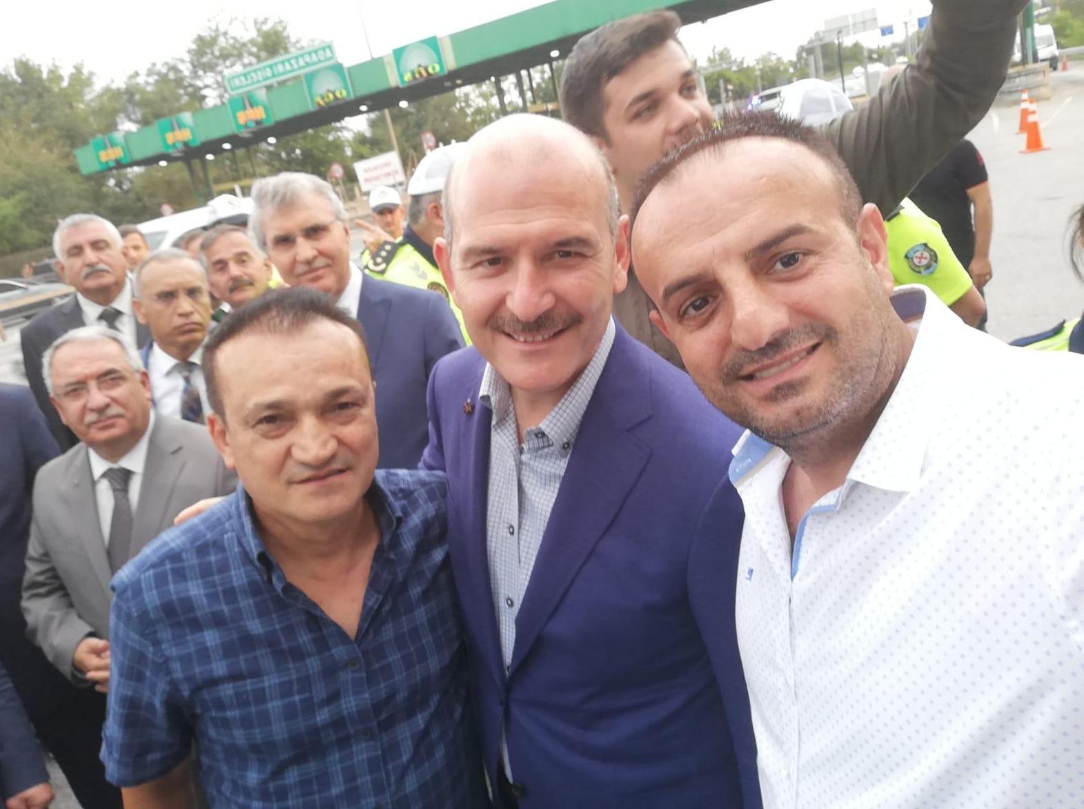 İçişleri Bakanı Soylu ile görüştüler