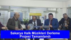Sakarya Halk Müzikleri Derleme Projesi Tamamlandı