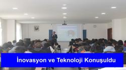 """Üretim Bilim, Teknoloji ve İnovasyon"" konulu konferans düzenlendi."