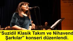 """SAÜ Devlet Konservatuarı Klasik Türk Müziği Topluluğu tarafından """"Suzidil Klasik Takım ve Nihavend Şarkılar"""" konseri düzenlendi"""