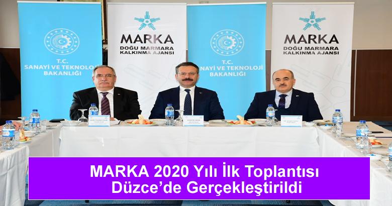 MARKA 2020 Yılı İlk Toplantısı Düzce'de Gerçekleştirildi