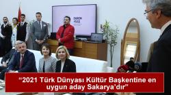 Gagavuzya Yeri Cumhurbaşkanı İrina Vlah'ı Sakarya'ya geldi.