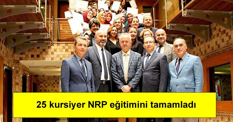 25 kursiyer NRP eğitimini tamamladı
