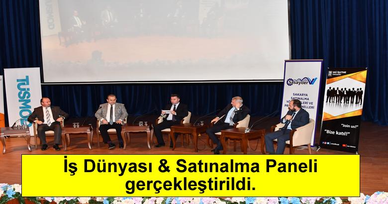 İş Dünyası & Satınalma Paneli gerçekleştirildi.