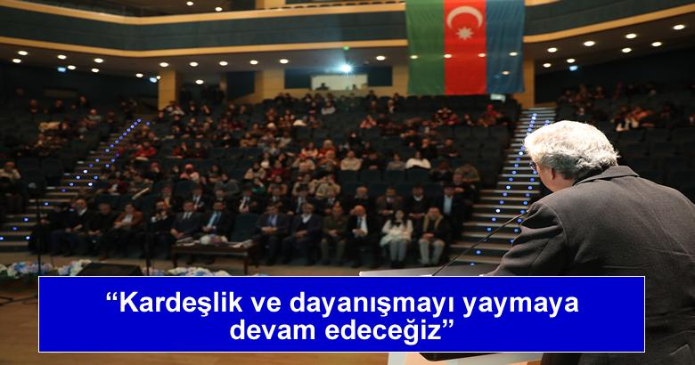 'Hocalı'yı Unutma, Unutturma' isimli konferans düzenlendi.