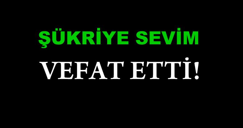 SEVİM AİLESİNİN ACI GÜNÜ!..