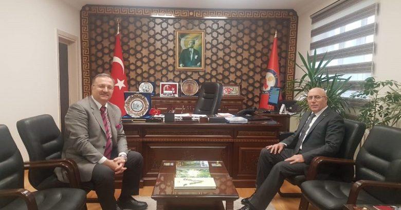 SASKİ Genel Müdürü Dr. İlyas Demirci ilçemize geldi.