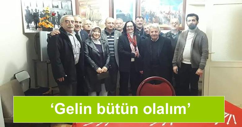 CHP İl başkan adayı Reyhan Şahin'den ilk ziyaret Arifiye ilçeye