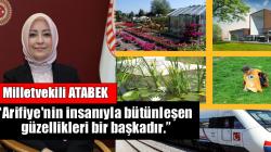 Milletvekili ATABEK'ten Arifiye paylaşımı