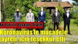 Ak Parti Sakarya İl Başkanı Yunus Tever'den ilçemize ziyaret