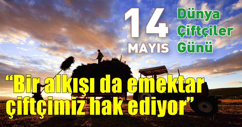 """TZOB Genel Başkanı Bayraktar:""""Koronavirüsle mücadelenin kahramanlarından biri de Türk çiftçisidir"""""""