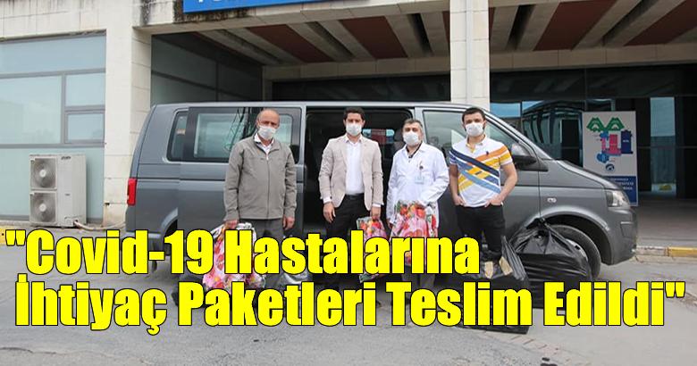Sakarya İl Müftülüğü Tarafından Covid-19 Hastaları İçin Hazırlanan İhtiyaç Paketleri Teslim Edildi