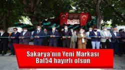 Sakarya'nın Yeni Markası Bal54 hayırlı olsun