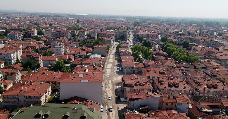 Büyükşehir Belediyesinin altyapı çalışmaları devam ediyor