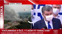 'Patlamada 4 Ölü,1'i Ağır 97 Yaralı var'