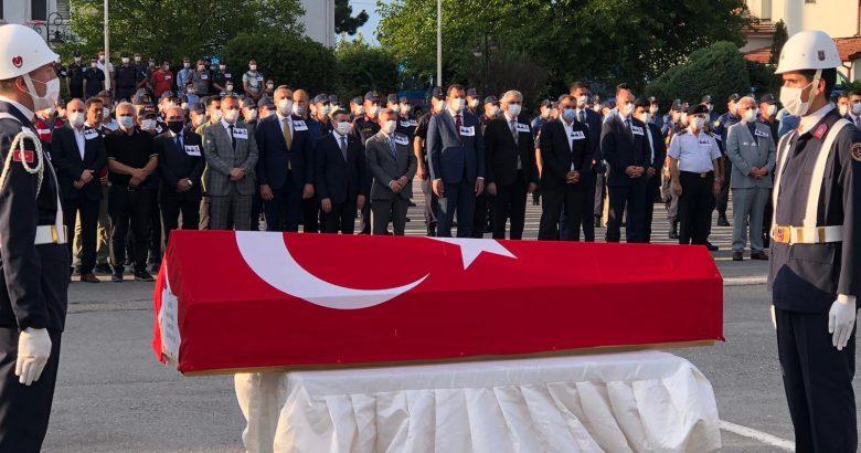 Şehidlerimiz için ilk askeri tören