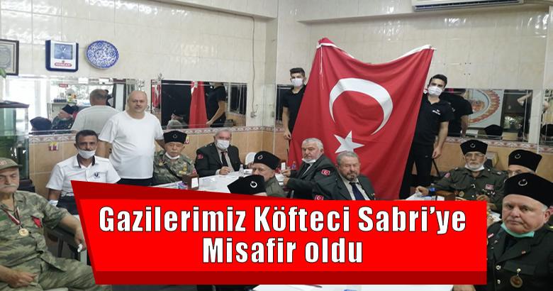 Gazilerimiz Köfteci Sabri'ye Misafir oldu