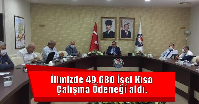 SAKARYA İŞKUR, PANDEMİ SÜRECİNDE 6.200 İŞYERİNDE KISA ÇALIŞMA YAPAN 49.680 İŞÇİYE ÖDEME YAPTI