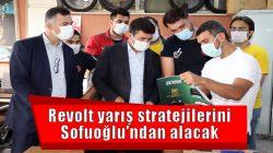 Revolt yarış stratejilerini Sofuoğlu'ndan alacak