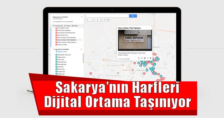Sakarya'nın Harfleri Dijital Ortama Taşınıyor