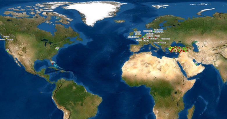 Yurtiçi ve yurtdışından 3 bin 600 işlem