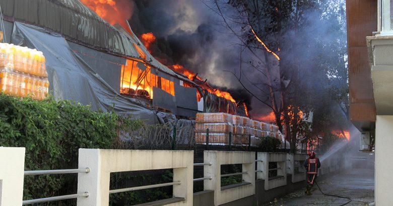 Essen Marketten yangın sonrası açıklama