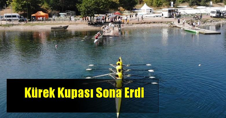 Sapanca Gölü Kırkpınar Kürek Parkurunda yapılan  Gençler Türkiye Kupası Kürek Yarışları sona erdi.