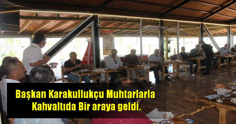 Arifiye Belediye Başkanı İsmail Karakullukçu, mahalle muhtarları ile istişare toplantısında bir araya geldi…