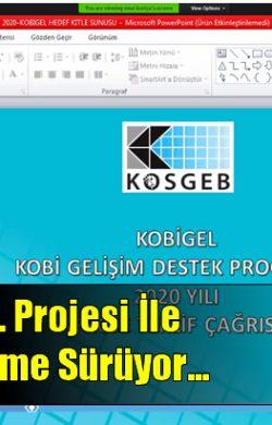 SATSO Üyesi Üretici KOBİ'ler KOBİGEL Projesi İle Dijitalleşmeyi Sürdürüyor