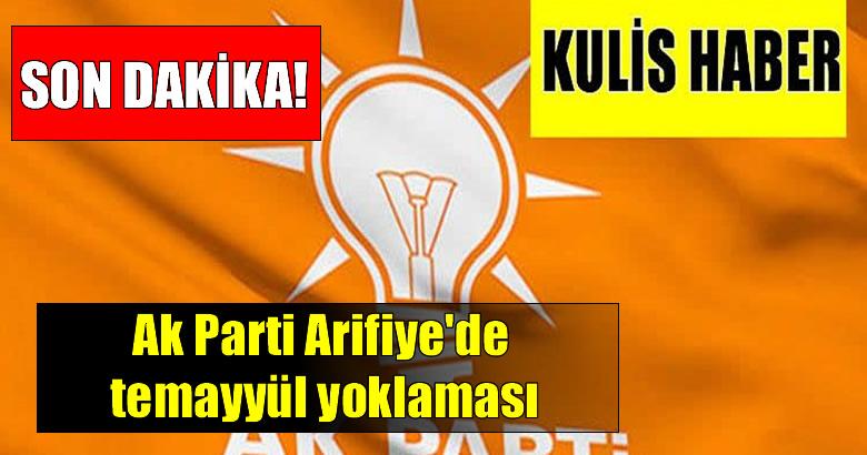 Ak Parti Arifiye'de temayyül yoklaması
