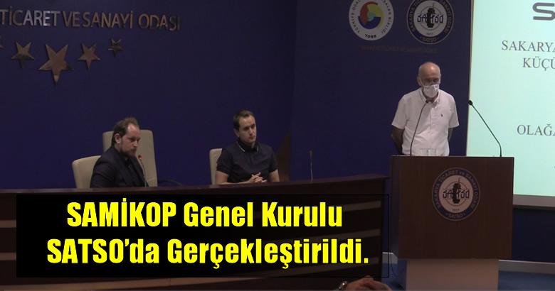 SAMİKOP Genel Kurulu SATSO'da Gerçekleştirildi.