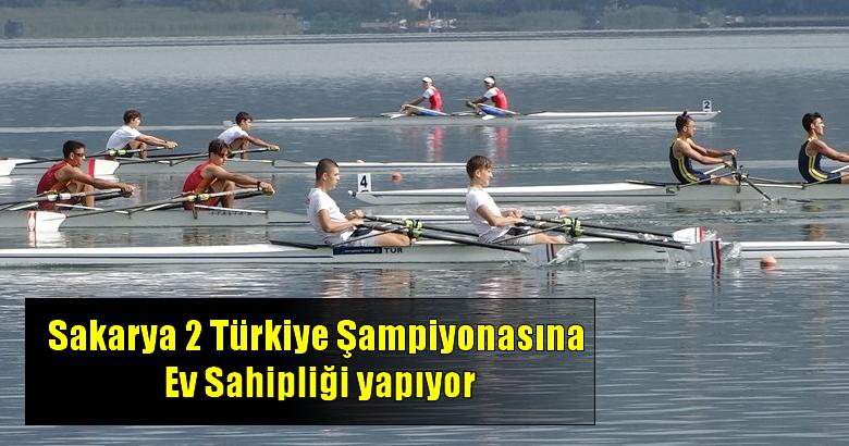 Sakarya 2 Türkiye Şampiyonasına Ev Sahipliği yapıyor