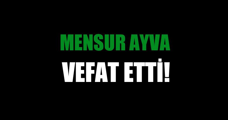 AYVA AİLESİNİN ACI GÜNÜ!..