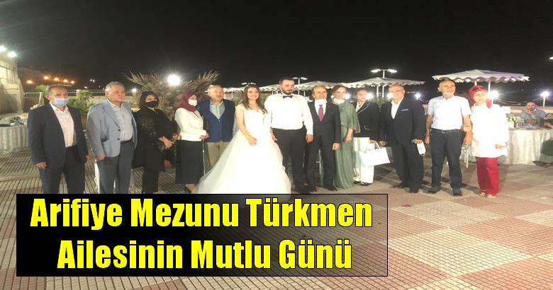 Arifiye Mezunu Türkmen Ailesinin Mutlu Günü