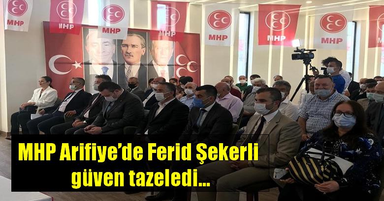 MHP Arifiye İlçe Kongresi gerçekleşti