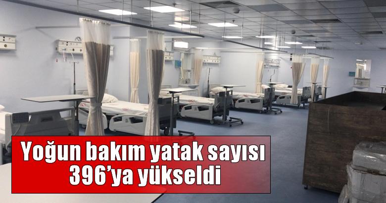 İl Sağlık Müdürü Doç. Dr. Aziz Öğütlü,'Yoğun bakım yatak sayımız 396'ya yükseldi'