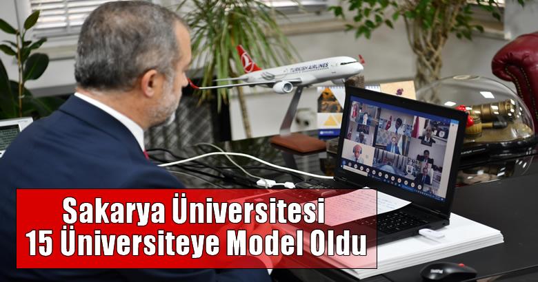Sakarya Üniversitesi 15 Üniversiteye Model Oldu