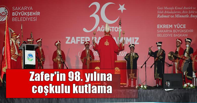 Zafer'in 98. yılına coşkulu kutlama