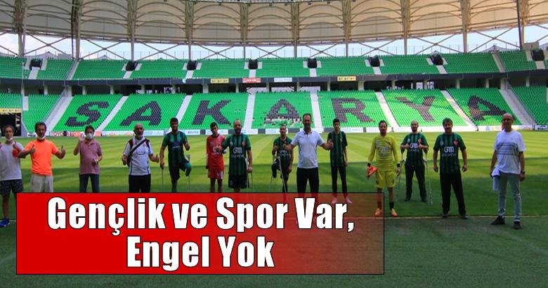 Sakarya Gençlik ve Spor İl Müdürü Arif Özsoy, İl Spor Merkezleri ve İl Engelli Spor Merkezlerini açtıklarını söyledi.