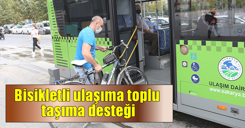 Bisikletli ulaşıma toplu taşıma desteği