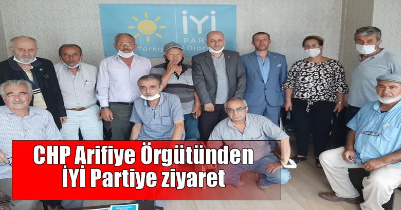 CHP Arifiye Örgütünden İYİ Partiye ziyaret