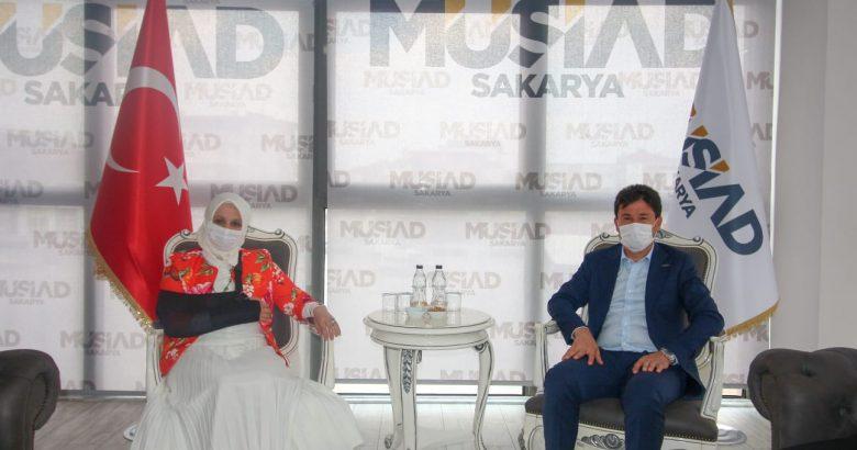 Durmuş'tan Sakarya MÜSİAD Başkanı Filizfidanoğlu'na Ziyaret