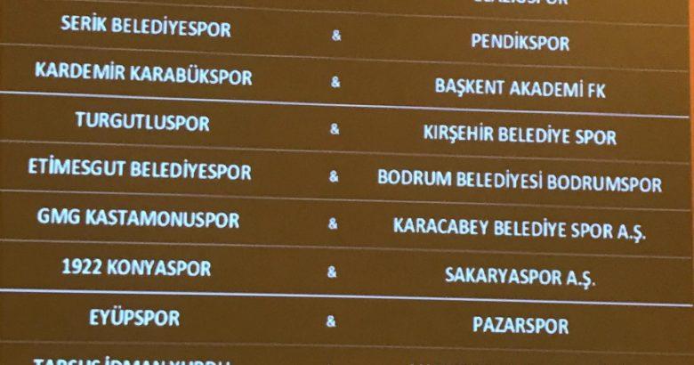 İlk Maç Konya'da!