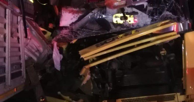 TEM'de 4 aracın karıştığı zincirleme kazada 2 kişi yaralandı