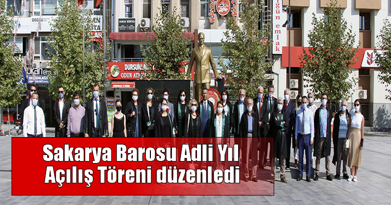 Sakarya Barosu Adli Yıl Açılış Töreni düzenledi