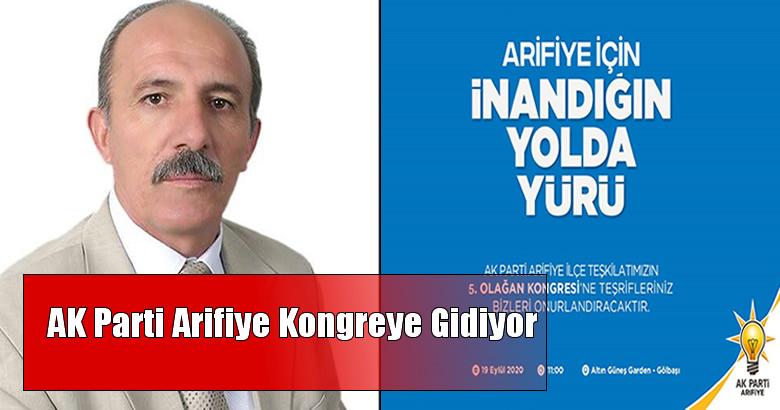 AK Parti Arifiye Kongreye Gidiyor