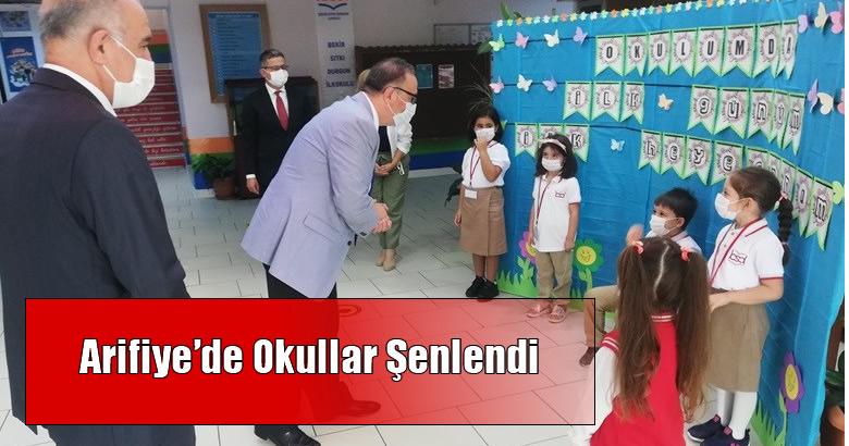 Arifiye'de Okullar Şenlendi