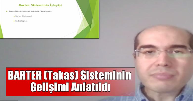 BARTER (Takas) Sisteminin Gelişimi Anlatıldı